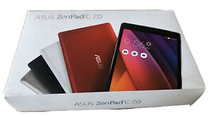 RED ASUS ZenPad C 7.0 Z170C GPS 1GB 16GB SSD ANDRIOD WIFI