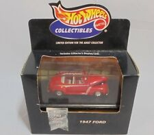 Mattel Hot Wheels Collectibles 1947 Ford Super Deluxe Sprtsman Covertible MIB