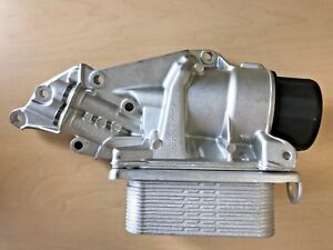 Oil Filter Housing With Cooler and Gasket For Mercedes Benz 272 180 0510