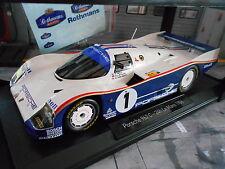 Porsche 962 C LH LE MANS 1986 #1 winner Bell stuc Holbert rothman s NOREV 1:18