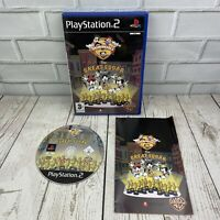 Animaniacs The Great Edgar Hunt (PAL) Sony Playstation 2 (PS2) Complete Manual