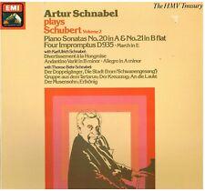 Schubert: Sonate Volume 2° N.20, 21, 4 Improvvisi D935 / Artur Schnabel - LP