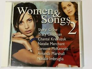 WOMEN & SONGS 2 CD 1998 CROW CHAPMAN IMBRUGLIA MARSHALL KREVIAZUK