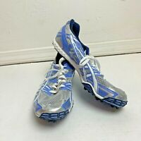 Asics GN756 Womens Dirt Diva 2 Running Shoes Size 10 Track and Field Blue White