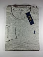 New Genuine Polo Ralph Lauren Men Custom Fit Cotton Long Sleeve TShirt CLEARANCE