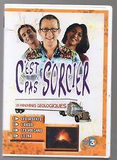 """DVD *C'est pas Sorcier* """"Les Phénomènes Géologiques"""" - (Occasion Comme Neuf)"""