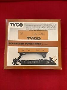 TYCO HO Scale Train POWER PACK Model 899V HOBBY TRANSFORMER AC/DC Railroad: NOS