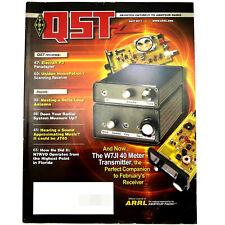 Qst Ham/Amateur Radio Arrl Magazine - April 2011 W7Ji 40 Meter Transmitter Jt65