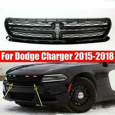 Black Front Upper Bumper Grill Grille For Dodge Charger 2015-2018 68226527AA