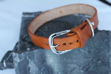 M verstellbare Hundehalsbänder aus Leder
