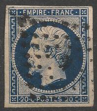 NAPOLÉON N°14A BLEU-NOIR, bureau de Paris K, signé Calves, TB/TTB
