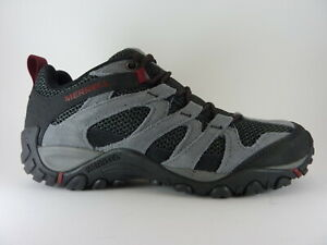 Merrell Alverstone Castlerock Grey Lace Up Trail Comfort Hiking Trainer Shoe