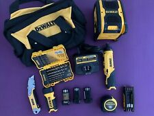 12pc Dewalt Lot  Cordless Screwdriver various tools and accessorize