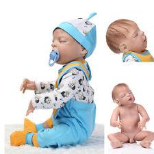 "23"" Realistic Reborn Baby Newborn Sleeping Real Looking Baby Doll Boy Lifelike"