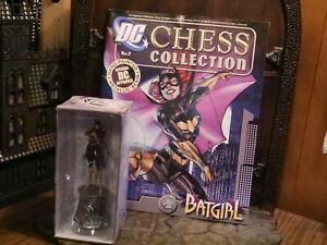 DC Chess Collection Magazine W/  Chess Piece #7 Batgirl Eaglemoss