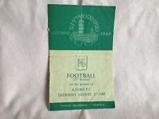 More details for  vintage rare 1948 london xiv olympiad football programme turkey v yugoslavia.