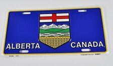 Alberta Canada USA Nummernschild License Plate Schild Blechschild