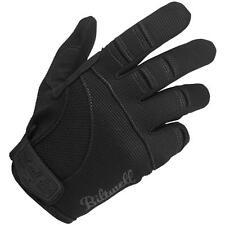 BILTWELL Moto MX Offroad Mechanic Motorcycle Gloves (Black) M (Medium)