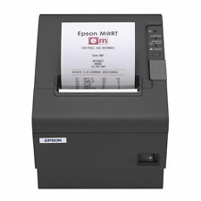 Epson Tm-T88Iv M129 Charcoal Usb Thermal Printer With Power Supply