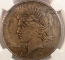 1921 PEACE DOLLAR HIGH RELIEF NGC MS 64 $1 STRUCK W/ PROOF DIES! ENN COINS