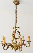 Lustre Louis XV Bronze véritable Lucien Gau années 70/80