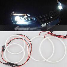 For VW Golf Mk5 2004-2009 4pcs xenon WHITE  led SMD Angel Eyes Halo Rings lights