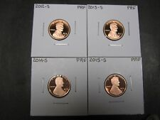 2012 S  2013 S  2014 S  2015 S  Proof  Lincoln Union Shield Penny/ Cents