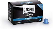 100 Capsule Bialetti Compatibili Nespresso Caffè Espresso Napoli