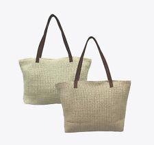 BEACH BAG. SHOPPER. TOTE. STRAW. USEFUL SHOPPING BAG. Code-Katrina