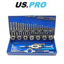 US PRO 32 Piece Metric Tap And Die Set M3-M12 2625