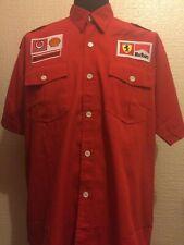 Vodaphone Marlboro Ferrari  Shirt Signed 7 Times Champion Michael Schumacher F1