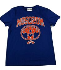 NWT MOSCHINO COUTURE!  Short Sleeve Logo Crew Neck T Shirt Size XL