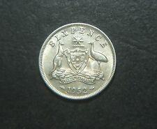 1952 Australian Sixpence,