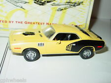 Matchbox Collectibles MOY 1971 71 PLYMOUTH 440 CUDA -Yellow, 1/43 MINT IN BOX