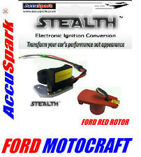 Ford Cortina/Escort/Capri X-flow Electronic ignition Motorcraft + red rotor K21