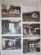 Photo article new ancient farmhouses National Museum of Wales St Fagan's 1955