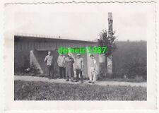 Foto Reichsautobahn Brücke Siebenlehn 1938 Personen Arbeiter ! (F1951