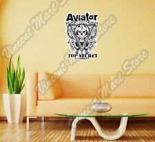 "Aviator Top Secret Eye of Providence Wall Sticker Room Interior Decor 20""X25"""