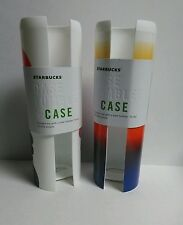 Starbucks 2 Case Tumbler Case Sleeves NWT Connect to a Case Tumbler Lot of 2