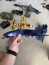 2002 Gi Joe Cobra Blue Rattler Jet Plane NOT Completer