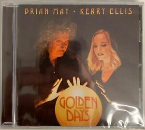 Brian May & Kerry Ellis - Golden Days (CD) New and Sealed