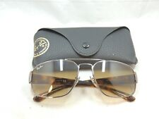 Ray Ban 3427 Tortoise Gunmetal Gradient Brown Sunglasses With Case 58 16 #016