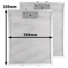 2 x Popular Cooker Hood Filter Metal Mesh Panel Vent Filters 320 x 260 mm UK