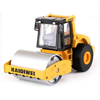 Diecast Single Drum Roller 1:50 Scale Heavy Construction Vehicle Hobby Model