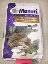 Mazuri Tortoise Turtle Diet Iguana Crocodile Reptile Food Fresh Vacuum Sealed