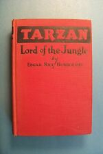 TARZAN LORD OF THE JUNGLE by Edgar Rice Burroughs - Vintage 1928 hardcover