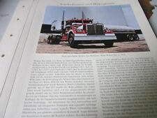 Nutzfahrzeug Archiv 3 Sonderthemen 3455 Markengeschichte Western Star USA