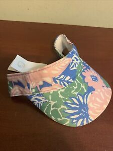 NWT Tory Burch Sport Visor Ribbon Bouquet New adjustable one size