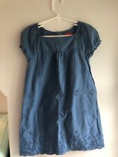 Esprit, Dress, Blue, Short Sleeve, 6-7