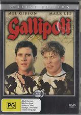 Gallipoli (DVD, 2005, 2-Disc Set) Special Edition Mel Gibson Mark Lee Australian